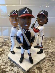 Atlanta Braves 2020 Silver Slugger Bobble Head Acuna Freeman Albies