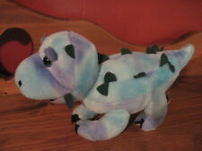 "Sweet 9"" Melissa & Doug plush DINOSAUR Blue Stuffed (47)"