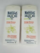 (2 pack) Le Petit Marseillais Extra Gentle Shower Cream, Orange Blossom 13.5 oz