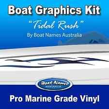 Boat Graphics Kit - Tidal Rush