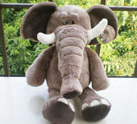 "8"" Wild Animals Elephant  Plush Kids Baby Soft Toys Doll Gift Stuffed Animal New"