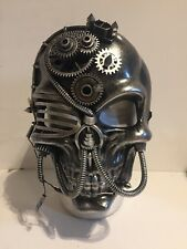 Badass Mechanical Steampunk Style Skull Face Mask, Urban Style, Post Apocalyptic