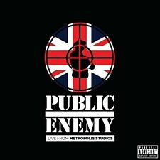 PUBLIC ENEMY ~ LIVE FROM METROPOLIS STUDIOS LONDON 2014 ~ NEW SEALED 2 CD SET