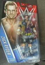 WWE zack ryder autograph LIMITED EDITION chase belt figure