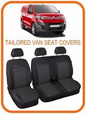 Tailored VAN seat covers for NEW Citroen Dispatch Van  2016 - on  2 +1
