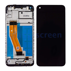 Samsung Galaxy A11 A115F A115M LCD Screen Digitizer Bezel Frame, Black, 159.5 mm