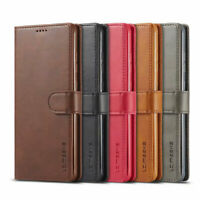 Luxury Wallet Case Leather Cover Credit Card Pouch Stand Flip For Samsung Galaxy