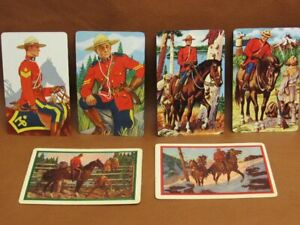 Lot 6 Canadian Royal Mounted Police Swap Cards