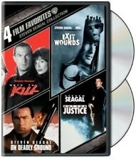 Hard to Kill / Exit Wounds / On Deadly Ground / Out for Justice (2 Disc) DVD NEW