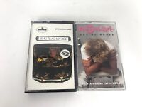 Lot of 2 Rod Stewart Cassette Tapes Out of Order, Sing it again Rod