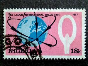 Nigeria 1977 The 1st Lagos International Trade Fair 18k - 1v Used
