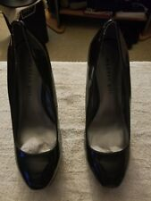 WOMENS MADDEN GIRL TARAH BLK PATENT LEATHER PUMPS 5 IN HEELS SZ 8 NWOB