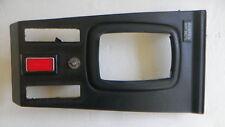 VINTAGE MERCEDES-BENZ W116 450SEL BLACK CENTER CONSOLE Shifter Bezel Trim