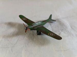 VINTAGE DIECAST MECCANO DINKY TOYS RAF FAIREY BATTLE LIGHT BOMBER AIRCRAFT A/F