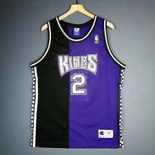 100% Authentic Mitch Richmond Vintage Champion Kings Jersey Mens Size 48 L  XL a62a3d509