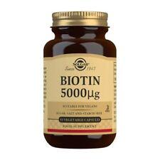 Solgar Biotine 5000mcg - 50 Vcaps