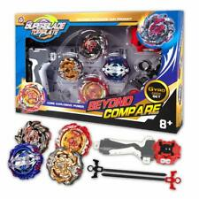 4x Beyblade Burst Arena Metal Set Gyro Fighting Gyroscope Launcher Spinning Toys