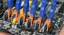 PCIe Adapter Clips Locks for USB 3.0 PCI-E 1x to 16x Riser Board Cable Extenders