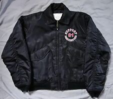 rare HELLS ANGELS MANCHESTER UK Support Bomber Jacket 81 Red White Big Machine