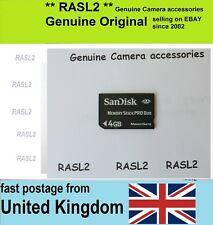 Original  SANDISK Memory Stick PRO DUO 4 GB MagicGate 4GB Memory Card  for Sony