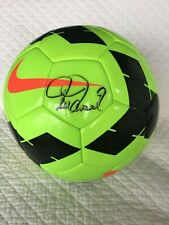 AUTHENTICATED BY JSA Mia Hamm Autographed Signed Soccer Ball - Mint Condition