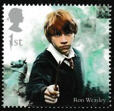 GB Harry Potter Ron Weasley single (1 stamp) MNH 2018