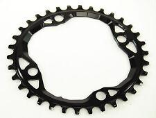 Absolute Black Oval MTB Chainring 4x104/64mm 34t 1x10,1x11,1x12