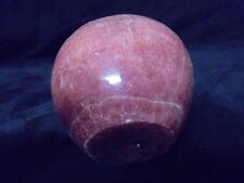 Nice Burgundy Color  Marble Round  Rock Ball Flat Bottom
