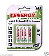 TENERGY CENTURA AAA 800mAh RECHARGEABLE BATTERIES 4 PACK