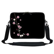"""Neoprene Laptop Bag w Hidden Handle & Shoulder Strap Fit Chromebook 11.6"""" 2901"""