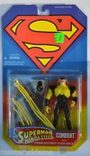 SUPERMAN Man Of Steel ACTION FIGURE - CONDUIT 1995 Kenner MOC