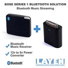 Bose SoundDock Series 1 Bluetooth Dock Adapter Music Receiver 12v - 5v Converter