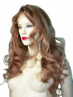 Human Hair Full Lace Wig Wigs #27 Remi Remy Indian Long Honey Blonde Body Wave
