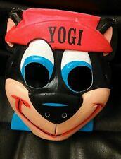 Yogi Bear Vac-U-Form Mask, Vintage!  Halloween!  Hannah-Barbera