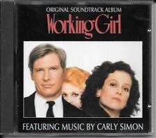 CD ALBUM BOF/OST 10 TITRES--WORKING GIRL--CARLY SIMON