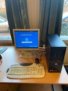 HP Compaq SG3 Athlon II X2 220 2.8Ghz 2GB / 500GB W10 + Philips monitor + Keybd