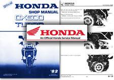 Honda CX500 Turbo Service Workshop Repair Shop Manual CX 500 TC Factory
