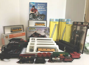 Train Collector's 2 HO Scale- Engines + HUGE Lot Of Accessories, Tracks