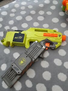 NERF N- STRIKE RAYVEN MOTORISED BLASTER GUN (LOT 1)