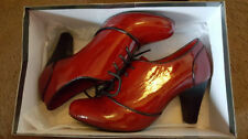 Leather Narrow (AA, N) Casual Heels for Women