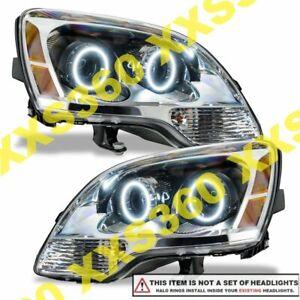 ORACLE Headlight HALO RING KIT for GMC Acadia 07-12 WHITE LED Angel Eyes