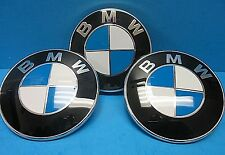 "3 GENUINE BMW Trunk & Fender Emblem Roundels OEM# 51141970248 3"" Z3 Roadster"