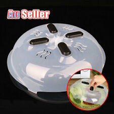 Hover Cover Anti-Sputtering With Steam Vents Food Splatter Guard Microwave