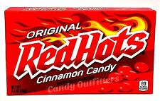 RED HOTS - CINNAMON FLAVORED CANDY - FAT FREE FOOD - Nostalgic Candies - 5.5oz