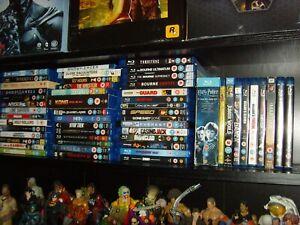 Blu ray Bundle 60+ Blu rays - Bourne1-3, Harry Potter1-6, Blade Runner & more