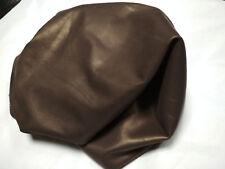 👌Free Shipping👌 Pearlized Mettalic Iriodin Dull Gold Bitter Lamb Skin Leather