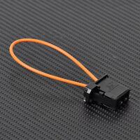Optical Fiber Loop Male Connector Adaptor Terminator Fit for Porsche Audi BMW