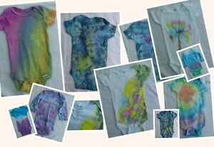 Gerber Tye Dye Onesies Unisex Brand New Created By Local Artist Baby Clothes