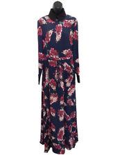 Full Length Silk Long Sleeve Regular Size Dresses for Women