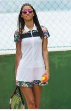 Sweaty Betty Volley Tennis Dress Flower Print size S NEW SB16a-B4